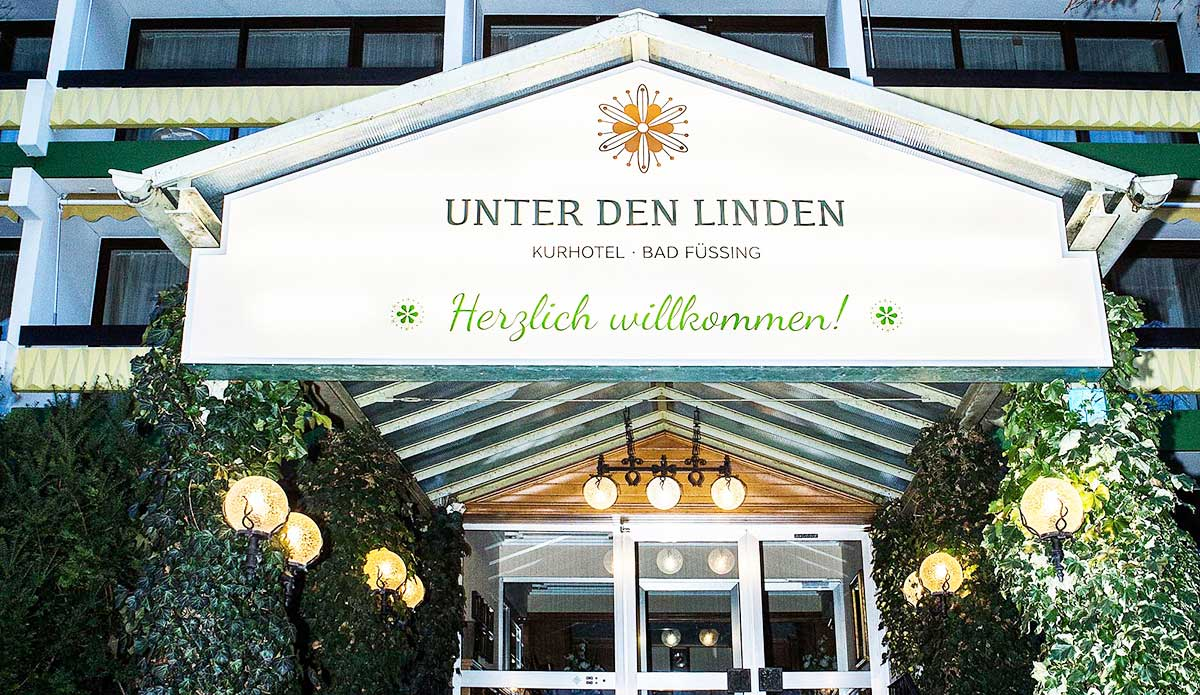 Wellnesshotel Kurhotel Unter den Linden Bad Füssing – Wellnessurlaub ...